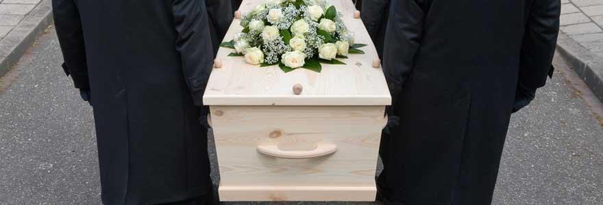 enterrement d'un proche